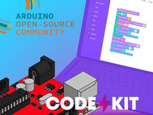Arduino blockly met EduKits Code kit